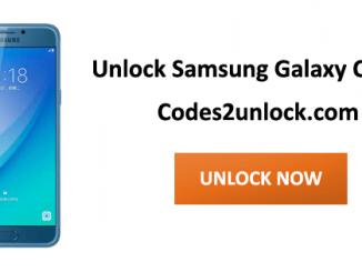 Unlock Samsung Galaxy C5 Pro