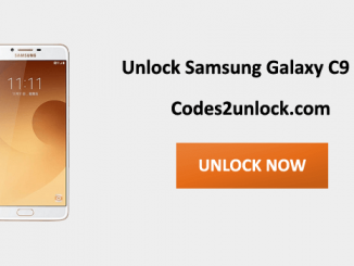 Unlock Samsung Galaxy C9 Pro, Samsung Galaxy C9 Pro Unlock Code,
