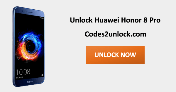 Unlock Huawei Honor 8 Pro, Huawei Honor 8 Pro Unlock Code,