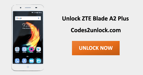 Unlock ZTE Blade A2 Plus, ZTE Blade A2 Plus Unlock Code,