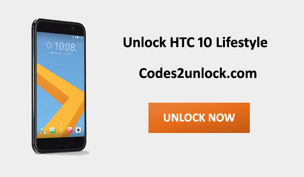 Unlock HTC 10 Lifestyle, HTC 10 Lifestyle Unlock Code,