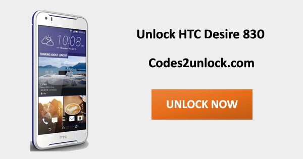 How To Unlock HTC Desire 830 Easily