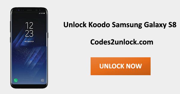 Unlock Koodo Samsung Galaxy S8, Koodo Samsung Galaxy S8 Unlock Code,