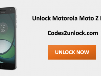Unlock Motorola Moto Z Play, Motorola Moto Z Play Unlock Code,