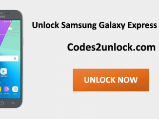 Unlock Samsung Galaxy Express Prime 2