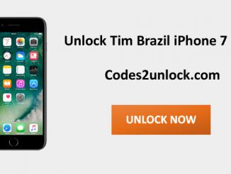 Unlock Tim Brazil Iphone 7 Plus