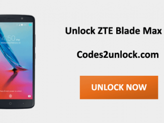 Unlock ZTE Blade Max 3