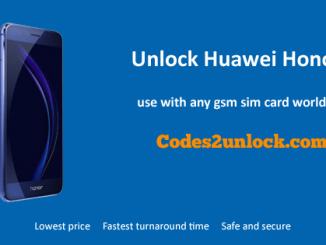 Unlock Huawei Honor 9, Huawei Honor 9 unlock code,