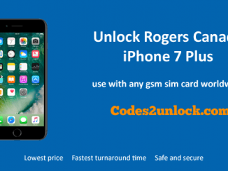 Unlock Rogers Canada iPhone 7 Plus, Unlock iPhone 7 Plus Rogers Canada,