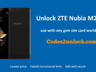 Unlock ZTE Nubia M2 Play, ZTE Nubia M2 Play Unlock Code