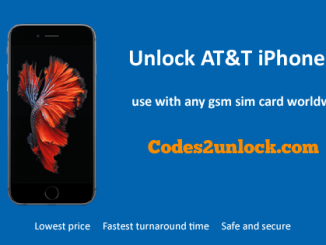 Unlock AT&T iPhone 6S, Unlock iPhone 6S AT&T