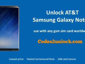 Unlock AT&T Samsung Galaxy Note 8, AT&T Samsung Galaxy Note 8 Unlock Code