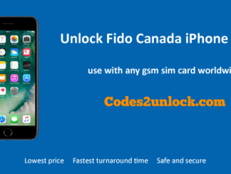Unlock Fido Canada iPhone 7 Plus, Unlock iPhone 7 Plus Fido Canada