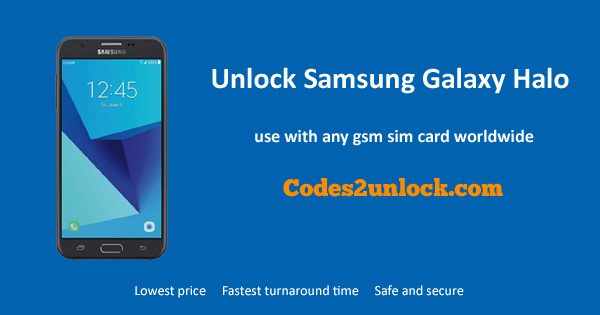 Unlock Samsung Galaxy Halo, Samsung Galaxy Halo Unlock Code