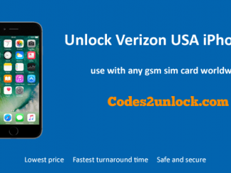 Unlock Verizon USA iPhone 6, Unlock iPhone 6 Verizon USA