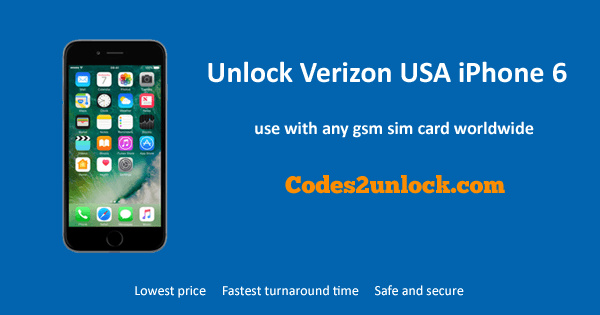 can you use verizon iphone on at t how to unlock verizon usa iphone 6 easily codes2unlock 19693