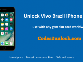 Unlock Vivo Brazil iPhone 7 Plus, Unlock iPhone 7 Plus Vivo Brazil