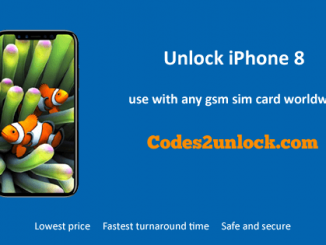 Unlock iPhone 8, iPhone 8 Unlock