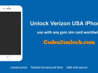 Unlock Verizon USA iPhone 8, Unlock iPhone 8 Verizon USA