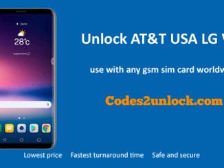 Unlock AT&T USA LG V30,