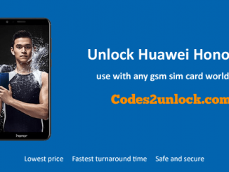 Unlock Huawei Honor 7X, Huawei Honor 7X Unlock Code,