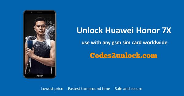 How To Unlock Huawei Honor 7X Easily