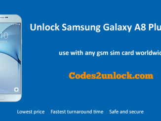 Unock Samsung Galaxy A8 Plus (2018),Samsung Galaxy A8 Plus (2018) Unlock Code,