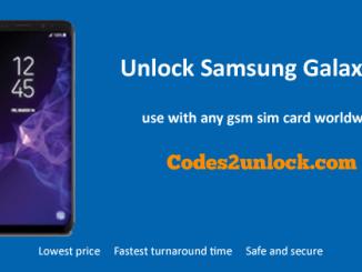 Unlock Samsung Galaxy S9,