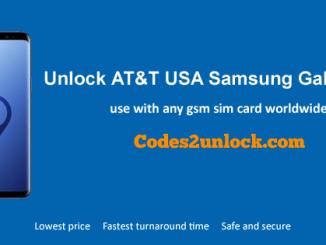 Unlock AT&T Samsung Galaxy S9, AT&T Samsung Galaxy S9 Unlock Code,