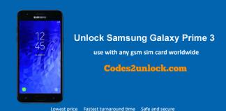 Unlock Samsung Galaxy Express Prime 3