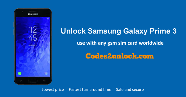 How to Unlock Samsung Galaxy Express Prime 3