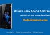 Unlock Sony Xperia XZ2 Premium