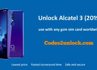 Unlock Alcatel 3 (2019)