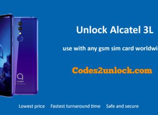 Unlock-Alcatel-3L
