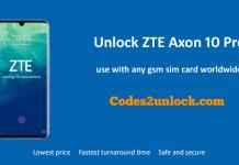 unlock-ZTE-Axon-10-Pro
