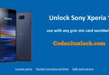 Unlock Sony Xperia 1