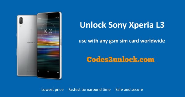How to Unlock Sony Xperia L3 Easily