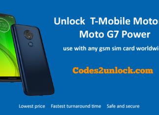 Unlock-T-Mobile-Motorola-Moto-G7 Power