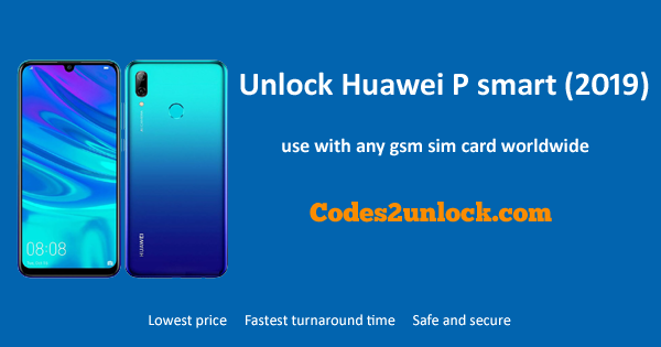 How to Unlock Huawei P smart (2019) Easily