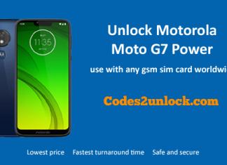 unlock-Motorola-moto-G7-power