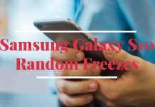 Samsung Galaxy S10 Random Freezes