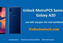 Unlock-MetroPCS-Samsung-Galaxy-A20