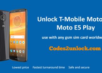 Unlock-T-Mobile-Motorola-Moto-E5-Play