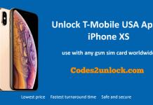 Unlock T-Mobile USA Apple iPhone XS