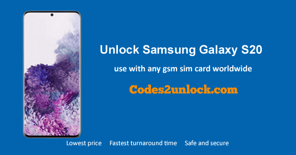 How To Unlock Samsung Galaxy S20 Easily